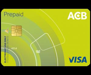 Cách làm thẻ visa prepaid tại ngân hàng ACB