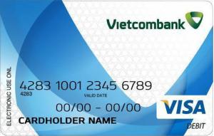 hướng dẫn cách làm thẻ Visa Debit tại ngân hàng Vietcombank