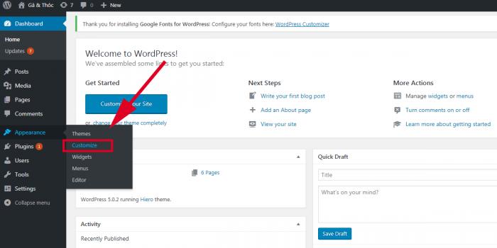Thay đổi độ giãn dòng cho website wordpress trong css
