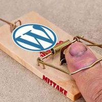 5 lỗi phổ biến khi làm website wordpress