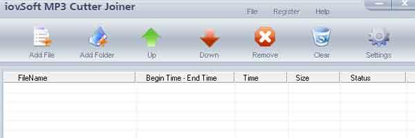 Phần mềm cắt ghép file nhạc MP3