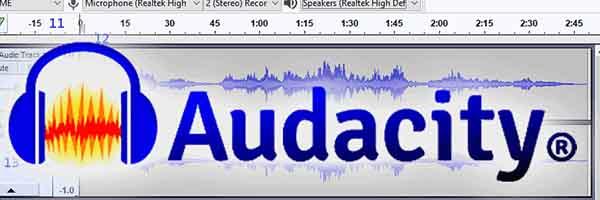 Phần mềm chỉnh sửa âm thanh miễn phí Audacity
