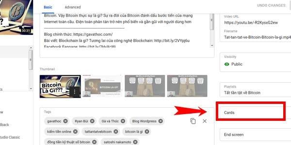 Tính năng Video Card trên Youtube là gì