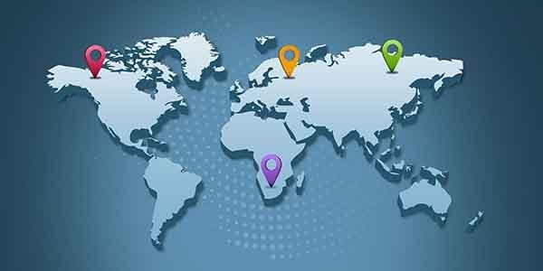 Vị trí địa lý của hosting ảnh hưởng tới website wordpress
